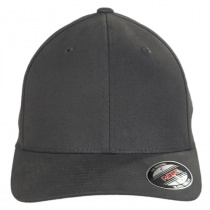 Brushed Twill MidPro FlexFit Fitted Baseball Cap alternate view 13