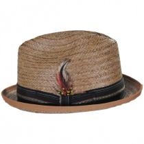 Coconut Straw Stingy Fedora Hat alternate view 7
