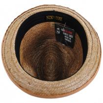 Coconut Straw Stingy Fedora Hat alternate view 8
