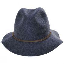 Mystery Wool Felt Safari Fedora Hat alternate view 2