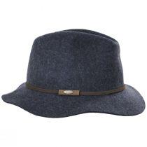 Mystery Wool Felt Safari Fedora Hat alternate view 3