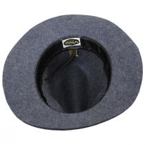 Mystery Wool Felt Safari Fedora Hat alternate view 4