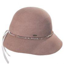 Alessandria Wool Felt Cloche Hat alternate view 3