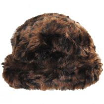 Tanya Faux Fur Cloche Hat alternate view 2