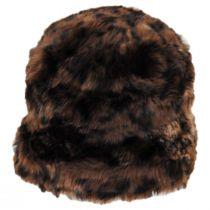 Tanya Faux Fur Cloche Hat alternate view 3
