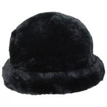 Tanya Faux Fur Cloche Hat alternate view 10