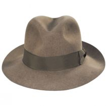 Guelph Nutria Fur Felt Fedora Hat and Traveling Case alternate view 2
