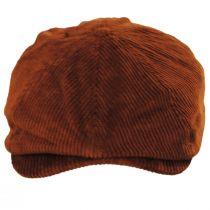 Brood Rust Corduroy Cotton Newsboy Cap alternate view 10