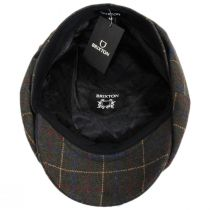 Brood Windowpane Plaid Baggy Newsboy Cap alternate view 8