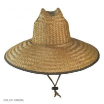 Palm Leaf Straw Lifeguard Hat alternate view 2