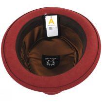 Stout Brick Wool Felt Diamond Crown Fedora Hat alternate view 8