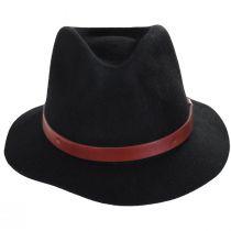 Messer Stingy Brim Wool Felt Fedora Hat alternate view 2