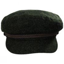 Tweed Wool Blend Fiddler Cap alternate view 6