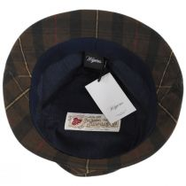 British Millerain Waxed Plaid Cotton Rain Bucket Hat alternate view 36