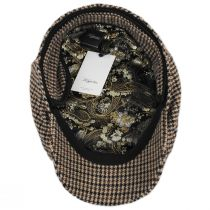 Houndstooth Cashmere Earflap Ivy Cap alternate view 5