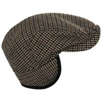 Houndstooth Cashmere Earflap Ivy Cap alternate view 4