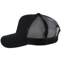 Forte Mid Pro Black Cotton Blend Trucker Snapback Baseball Cap alternate view 3