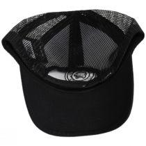 Forte Mid Pro Black Cotton Blend Trucker Snapback Baseball Cap alternate view 4