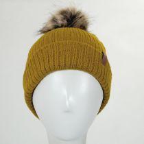 Alison Faux Fur Pom Beanie Hat alternate view 2