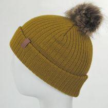 Alison Faux Fur Pom Beanie Hat alternate view 3