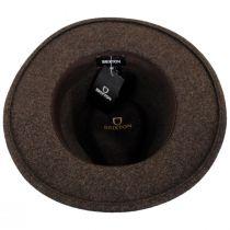 Messer Brown Mix Wool Felt Fedora Hat alternate view 8