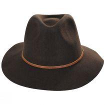Wesley Brown Wool Felt Fedora Hat alternate view 6