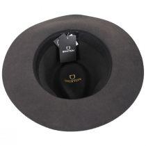 Wesley Packable Wool Felt Fedora Hat alternate view 9