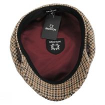 Houndstooth Tweed Wool Blend Fiddler's Cap alternate view 4