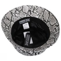 Snakeskin Cotton Blend Bucket Hat alternate view 19