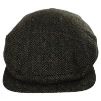 Fabian Earflap Herringbone Wool Ivy Cap alternate view 7