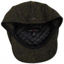 Fabian Earflap Herringbone Wool Ivy Cap alternate view 10