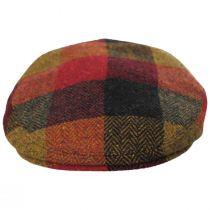Donegal Squares Herringbone Tweed Wool Ivy Cap alternate view 10