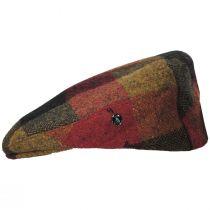 Donegal Squares Herringbone Tweed Wool Ivy Cap alternate view 11