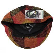 Donegal Squares Herringbone Tweed Wool Ivy Cap alternate view 36