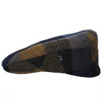 Donegal Squares Herringbone Tweed Wool Ivy Cap alternate view 3