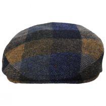 Donegal Squares Herringbone Tweed Wool Ivy Cap alternate view 14