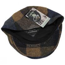 Donegal Squares Herringbone Tweed Wool Ivy Cap alternate view 16