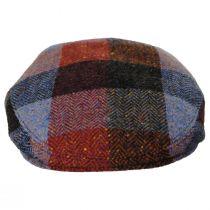 Donegal Squares Herringbone Tweed Wool Ivy Cap alternate view 6