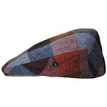 Donegal Squares Herringbone Tweed Wool Ivy Cap alternate view 7