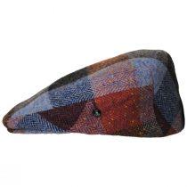 Donegal Squares Herringbone Tweed Wool Ivy Cap alternate view 19