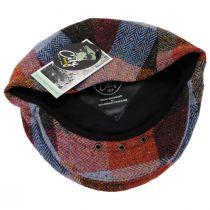 Donegal Squares Herringbone Tweed Wool Ivy Cap alternate view 20