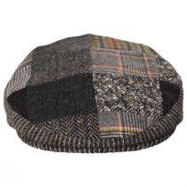Donegal Patchwork Harris Tweed Wool Ivy Cap alternate view 2