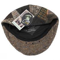 Donegal Patchwork Harris Tweed Wool Ivy Cap alternate view 4