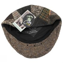 Donegal Patchwork Harris Tweed Wool Ivy Cap alternate view 16