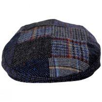 Donegal Patchwork Harris Tweed Wool Ivy Cap alternate view 10
