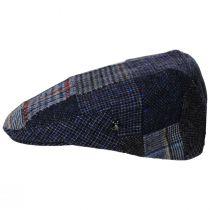 Donegal Patchwork Harris Tweed Wool Ivy Cap alternate view 11