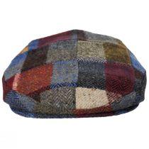 Donegal Patchwork Harris Tweed Wool Ivy Cap alternate view 50