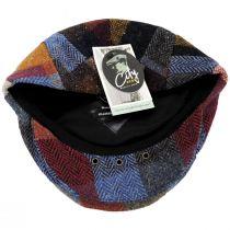 Donegal Patchwork Harris Tweed Wool Ivy Cap alternate view 52