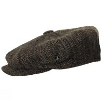 Donegal Remix Herringbone Tweed Wool Newsboy Cap alternate view 3