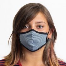 Youth Antimicrobial Cotton Blend Face Cover alternate view 7